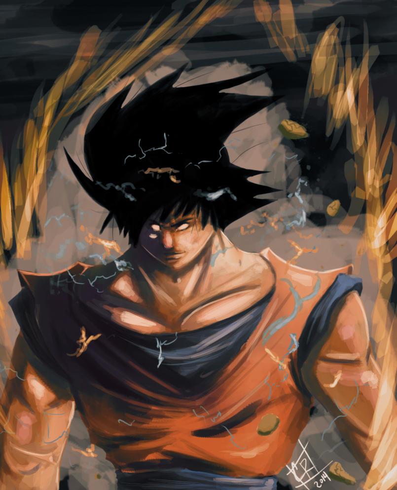 Bizzaro Goku by EarthsSaviorSonGoku