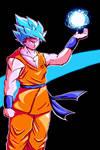 ssjGod 2 Goku