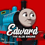 Edward The Blue Engine   Vector