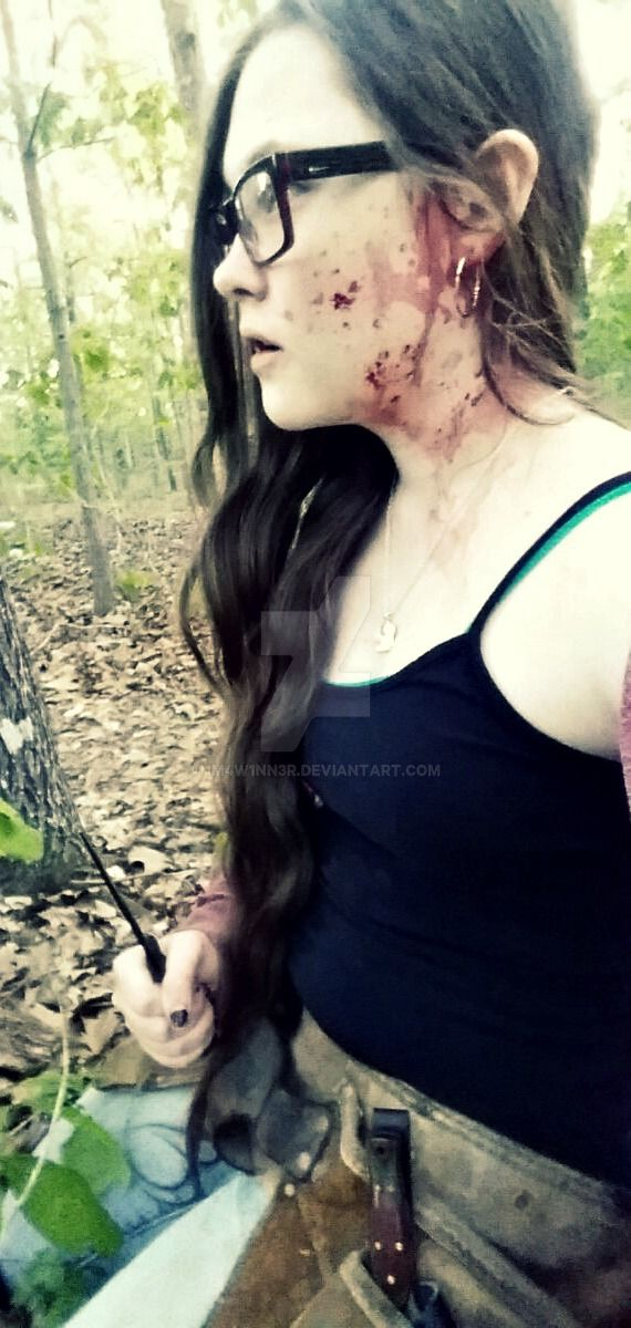 Zombie hunter by 1M4W1NN3R