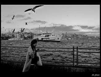 istanbul - blackandwhite. by zeynepgozen