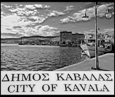 city of kavala by zeynepgozen