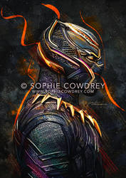 T'Challa by sophiecowdrey