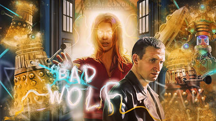 I am the Bad Wolf... by sophiecowdrey
