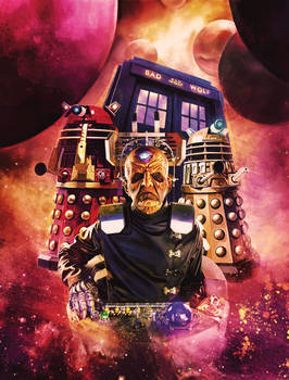 Doctor Who Series 4 Steelbook - Back Cover