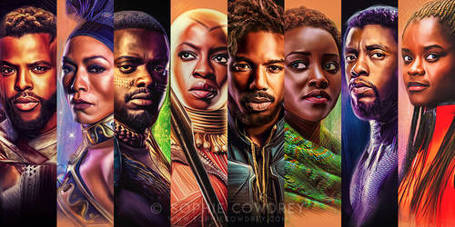 Portraits of Wakanda