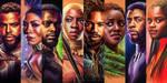 Portraits of Wakanda by sophiecowdrey
