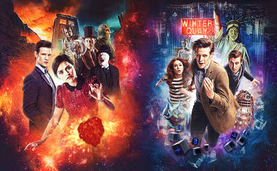 Doctor Who - Series 7 Steelbook by sophiecowdrey