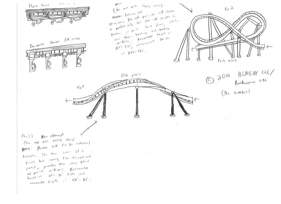 Roller Coaster Drawings by Randomman295 on DeviantArt