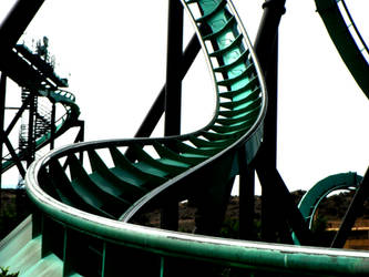 Surreal Roller Coaster Photography 3 by Randomman295