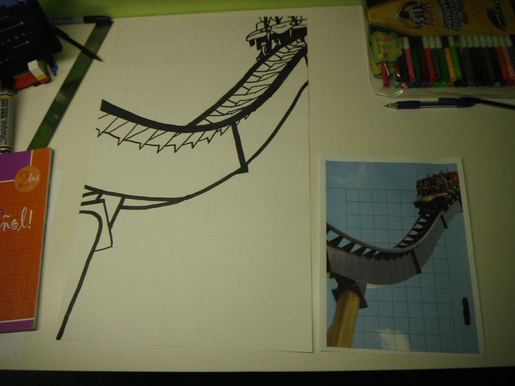 Diamondback Pop Art 1st Sketch by Randomman295
