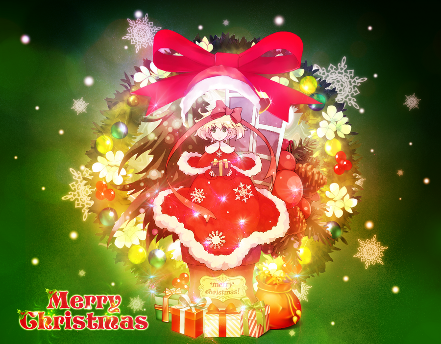 Christmas Wallpaper by amielnic