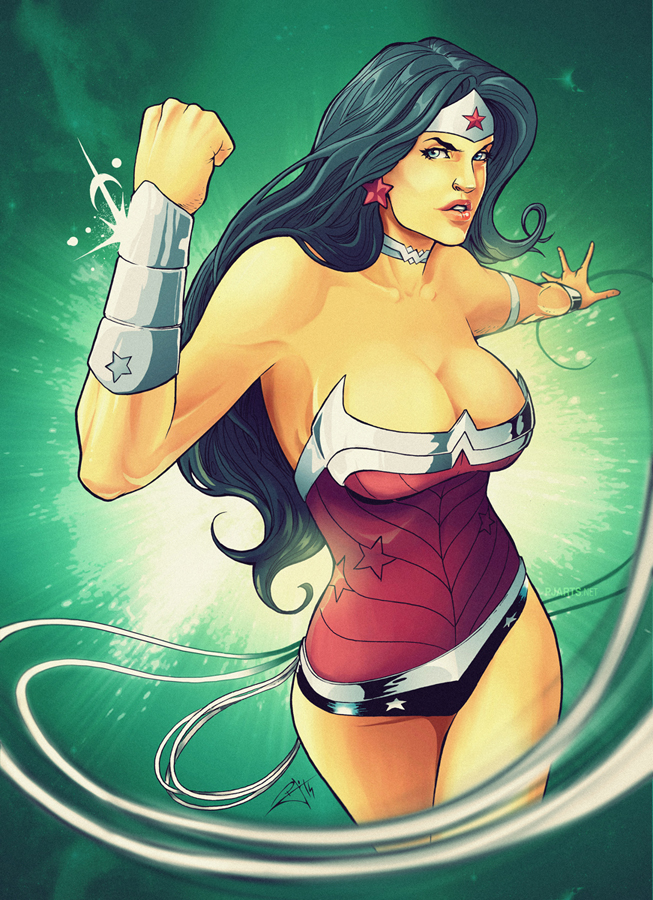 Wonder Woman by morphews