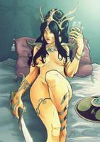 Dejah Thoris Martian Princess by morphews