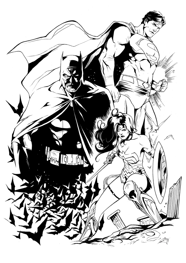 DC Trinity by morphews