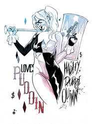 Commission Suicide Squad: Harley Quinn
