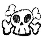 Cartoon Skull by skulltops