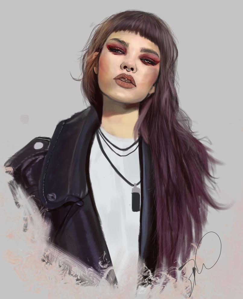 RockGirl by bruuninferreira