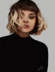 Portrait Study by bruuninferreira