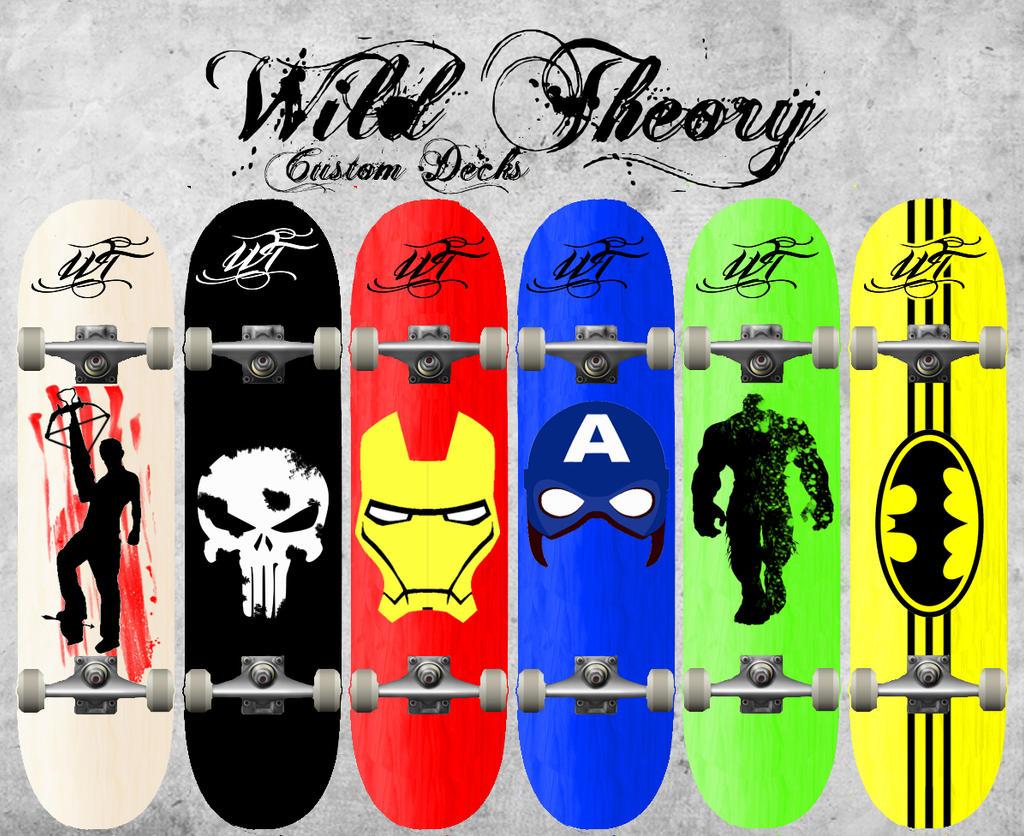 Custom Deck Ideas By Wild Theory On Deviantart