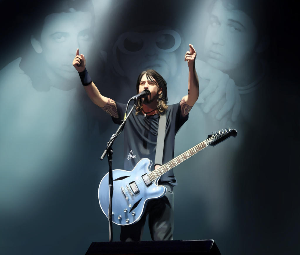 Dave Grohl by Wild-Theory