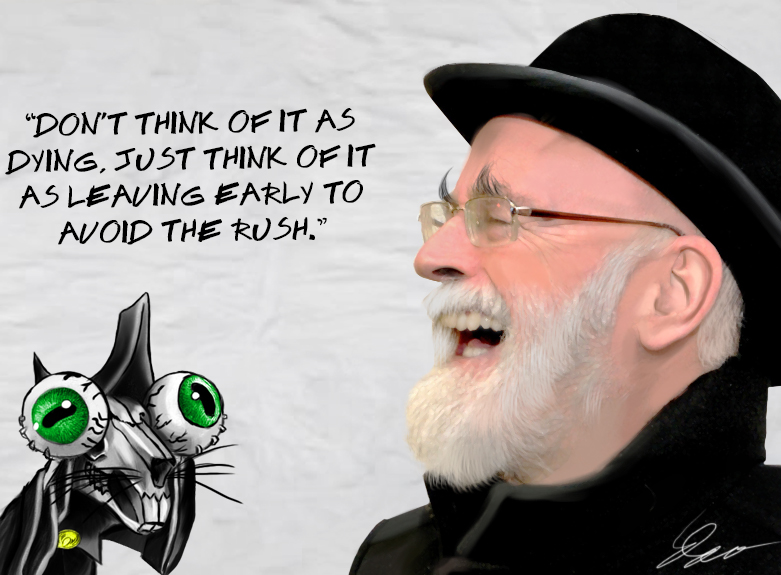 RIP Terry Pratchett by Wild-Theory
