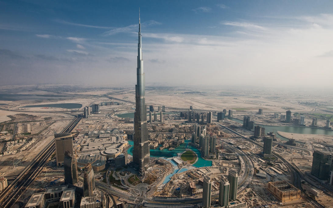burj al khalifa_HD ishaque by ishaque87