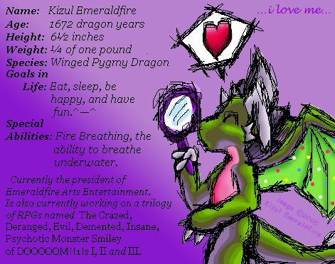 KizulEmeraldfire's Profile Picture