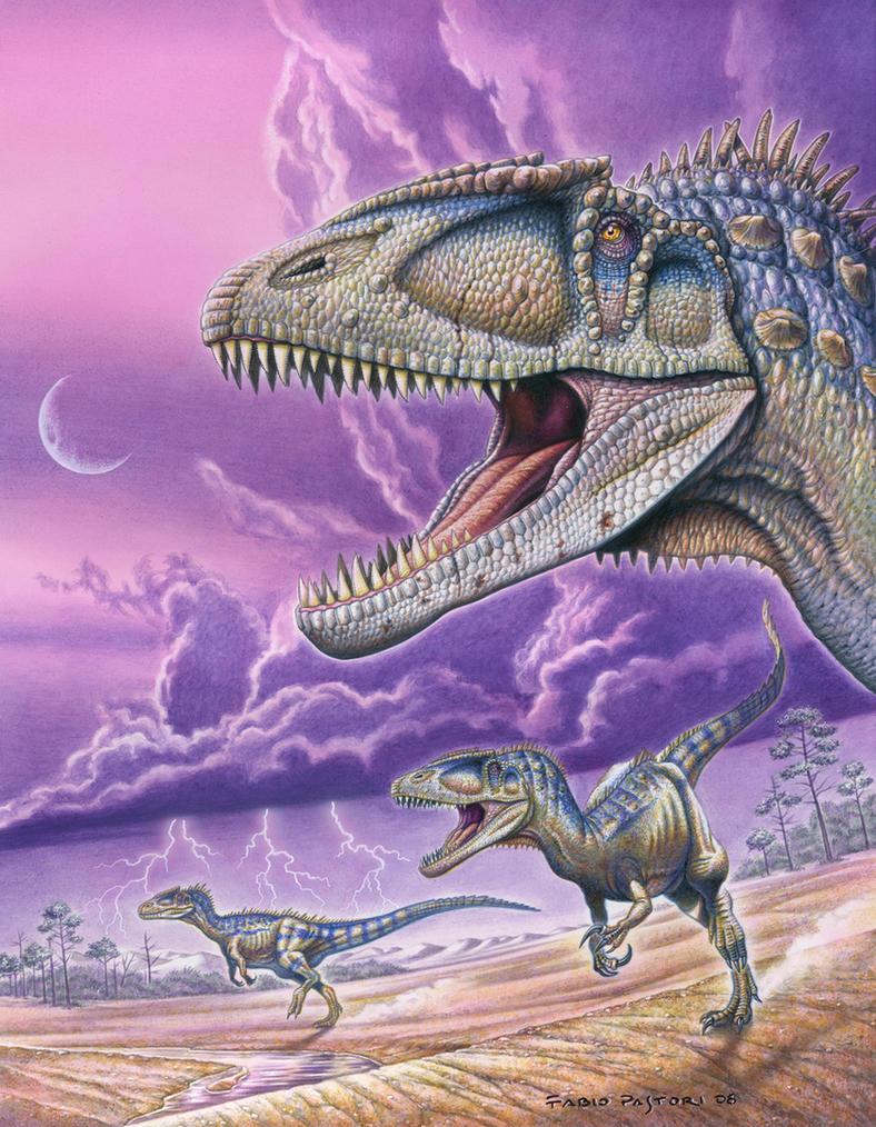 Carcharodontosaurus saharicus by PaleoPastori