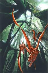 Eudimorphodon ranzii by PaleoPastori
