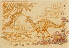 Miragaia longicollum by PaleoPastori