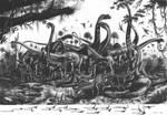 Evolution Sauropods