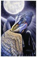Sinornithosaurus millenii by PaleoPastori