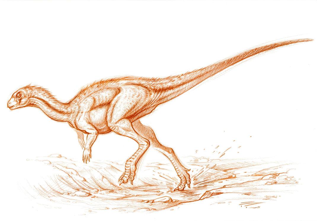 Othnielosaurus by PaleoPastori