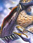 Dilong paradoxus and Yutyrannus huali