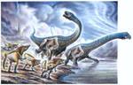 Dreadnoughtus schrani - Orkoraptor burkei