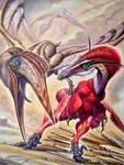 Austroraptor cabazai vs Aerotitan sudamericanus