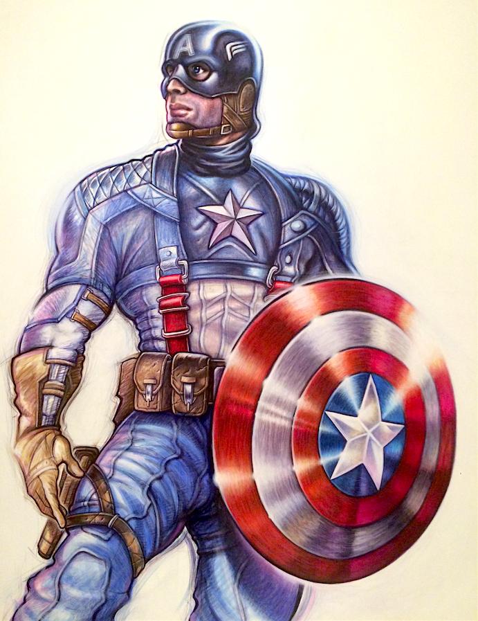 Captain America by PaleoPastori