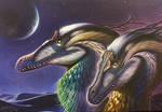 Velocitaptor mongoliensis pair