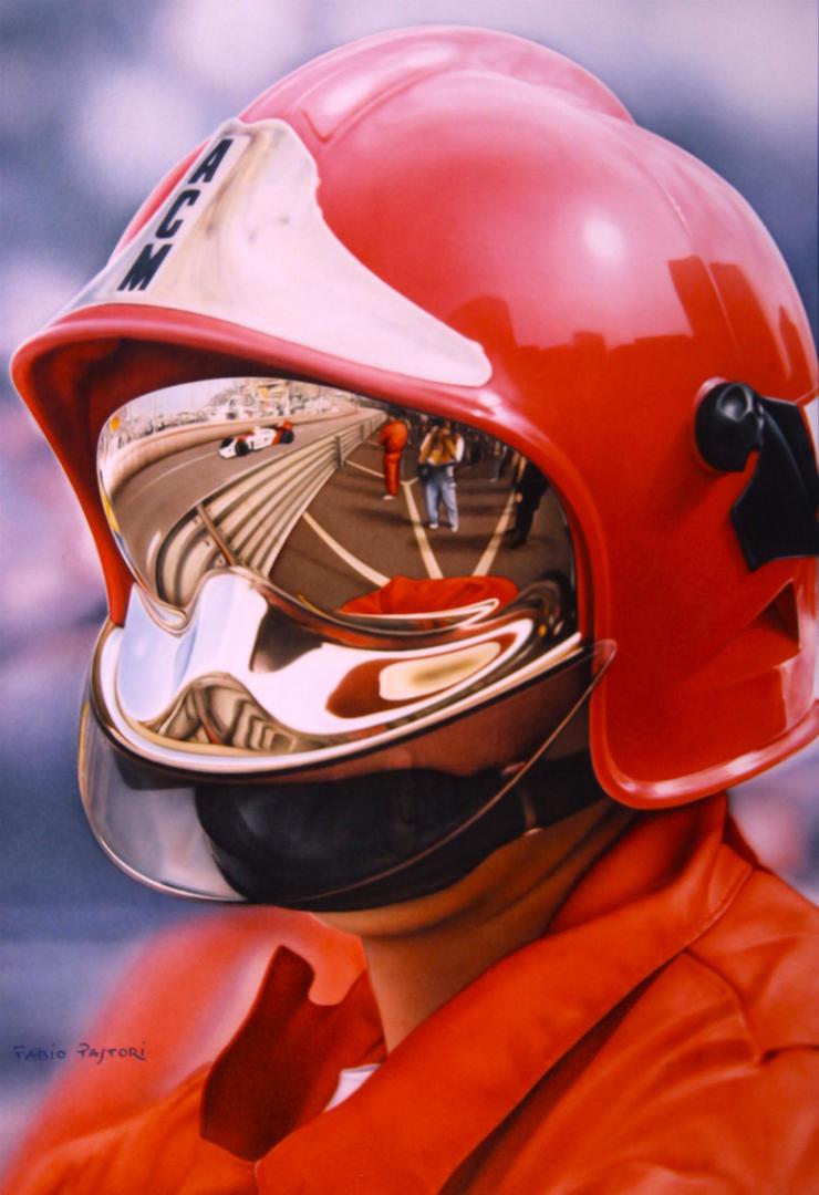 F1 - Fireman Helmet by PaleoPastori