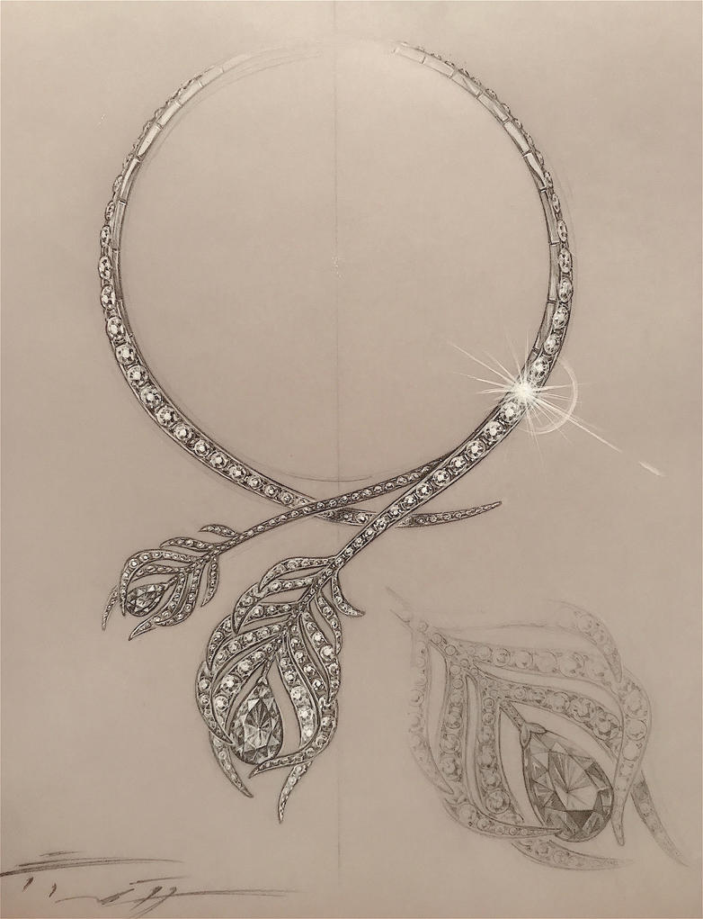Collier with Diamonds by PaleoPastori