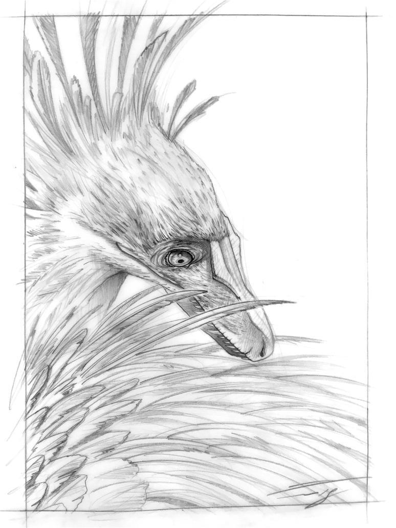 Velociraptor mongoliensis by PaleoPastori