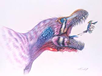 Tyrannosaurus rex BHIGR 3033 - Stan by PaleoPastori