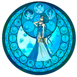 KH Stained glass- Mercury