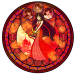 KH Stained glass- Mars