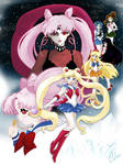 Sailor Moon R by CL-Pinkskull