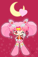 Sailor Chibi Moon by CL-Pinkskull