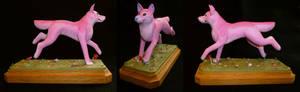 pink worgi coming your way!