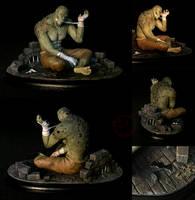 Killer Croc [figurine] by CadaverCrafts