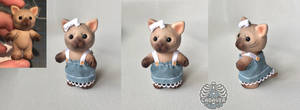 Sylvanian Families Sphynx cat [custom toy]